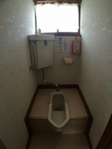 2F before 段差がある和式トイレでした。