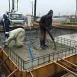 順調です 基礎工事 in 神川