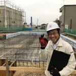 基礎「配筋検査」早稲田の杜の家