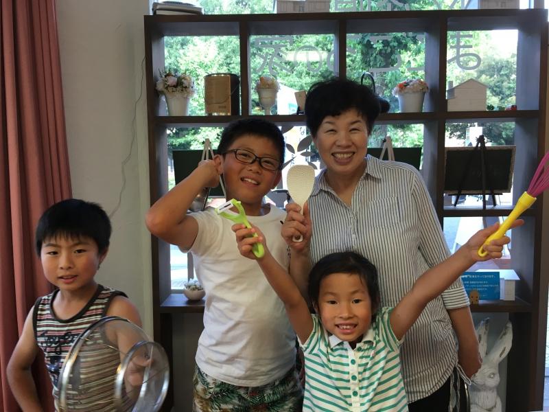 第4回 子供と一緒に簡単お料理教室 開催!