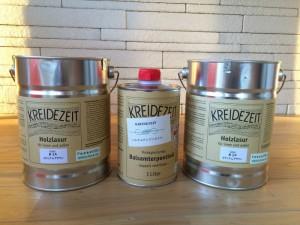 私たちがおススメする自然塗料。プラネットカラー。亜麻仁油が主成分で、安心安全な塗料です