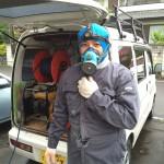 安心のシロアリ防除工事