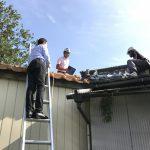 屋根から 雨漏り SOS!!