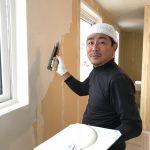 塗り壁でワンランク上の質感♪