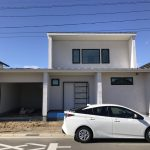 塗り壁いい感じ♪早稲田の杜の家