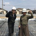 基礎「配筋検査」天城屋新社屋