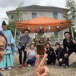 尾曳の家「地鎮祭」