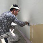 心こめて塗り壁工事 〜東台の家 II〜