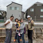 基礎「配筋検査」松戸の家