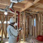 瑕疵保険の検査 in 緑の家