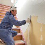 漆喰塗りました♪荒川日野の家