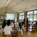 アロマでバスボム作り in 神川町