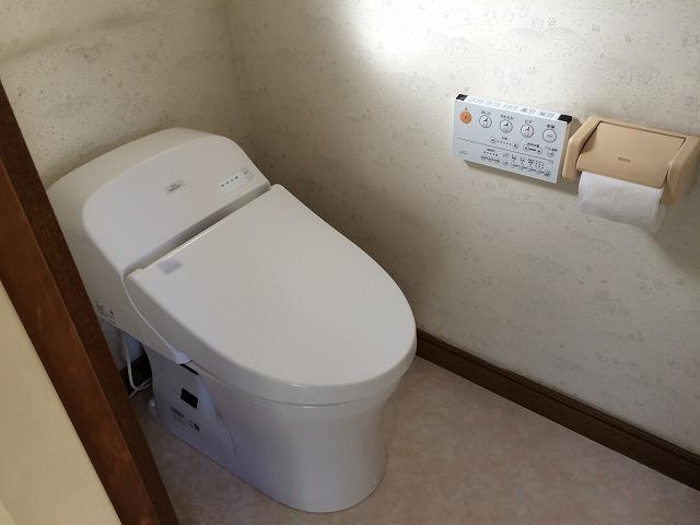 節水トイレで老後節約